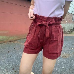NWT Zara Brick color Shorts